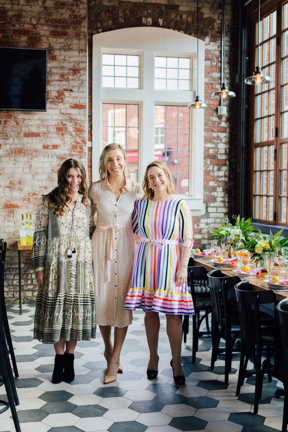 The hosts of blogger Eva Amurri's Baby Sprinkle