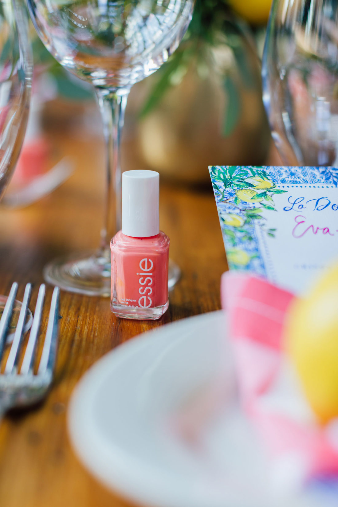 The original Essie nail polish color at blogger Eva Amurri's Baby Sprinkle