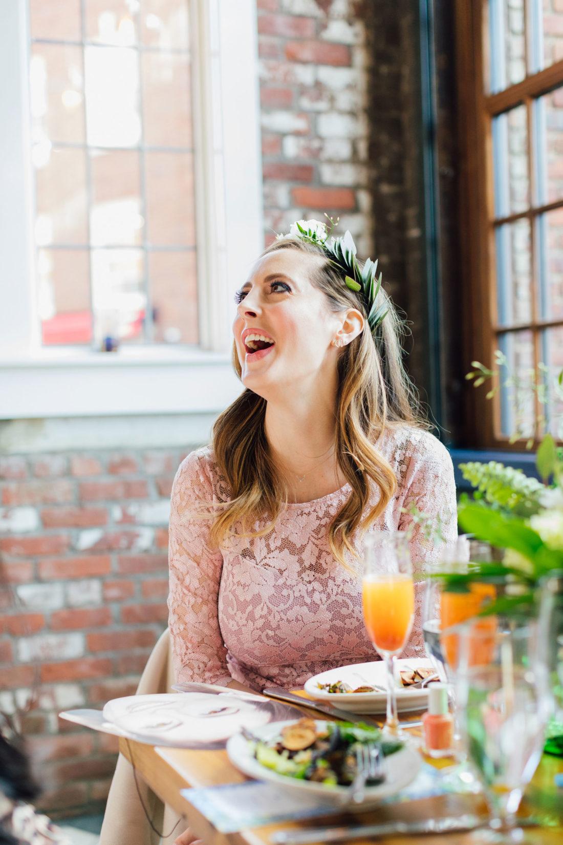 Blogger Eva Amurri laughs at her Baby Sprinkle