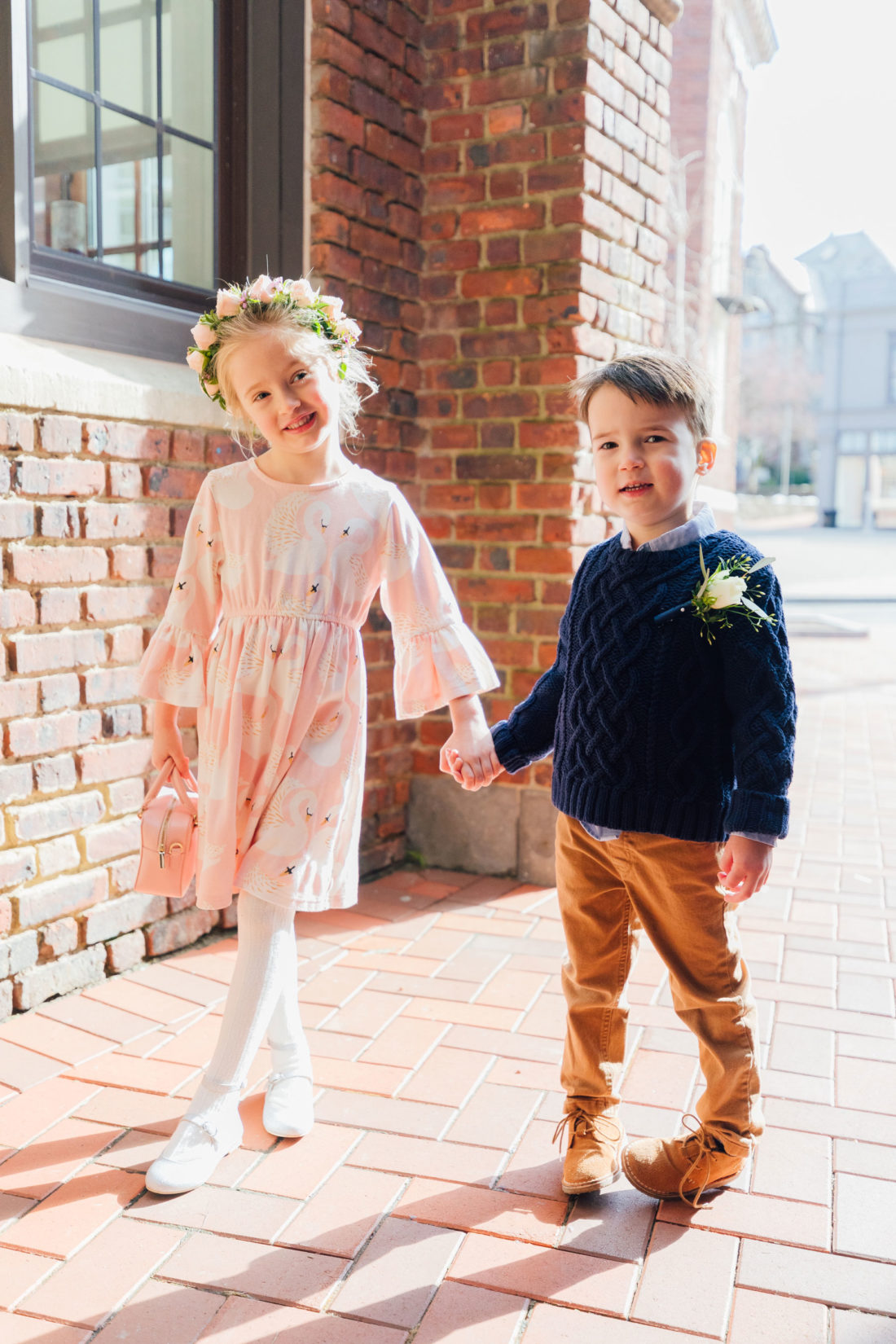 Blogger Eva Amurri's kids Marlowe and Major at her Baby Sprinkle