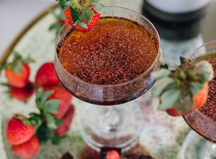 A Valentine's Day Cocktail Recipe by blogger Eva Amurri
