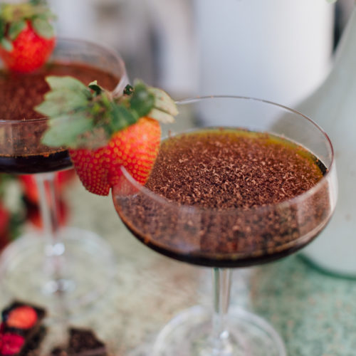 A Valentine's Day Cocktail Recipe by blogger Eva Amurri