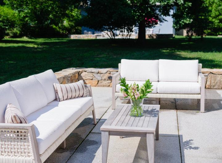 Eva Amurri shares her Outdoor Decor Glow Up Ideas