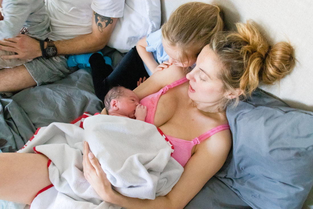 Eva Amurri shares her third son Mateo Antoni's birth story, as well as personal photos from his birth