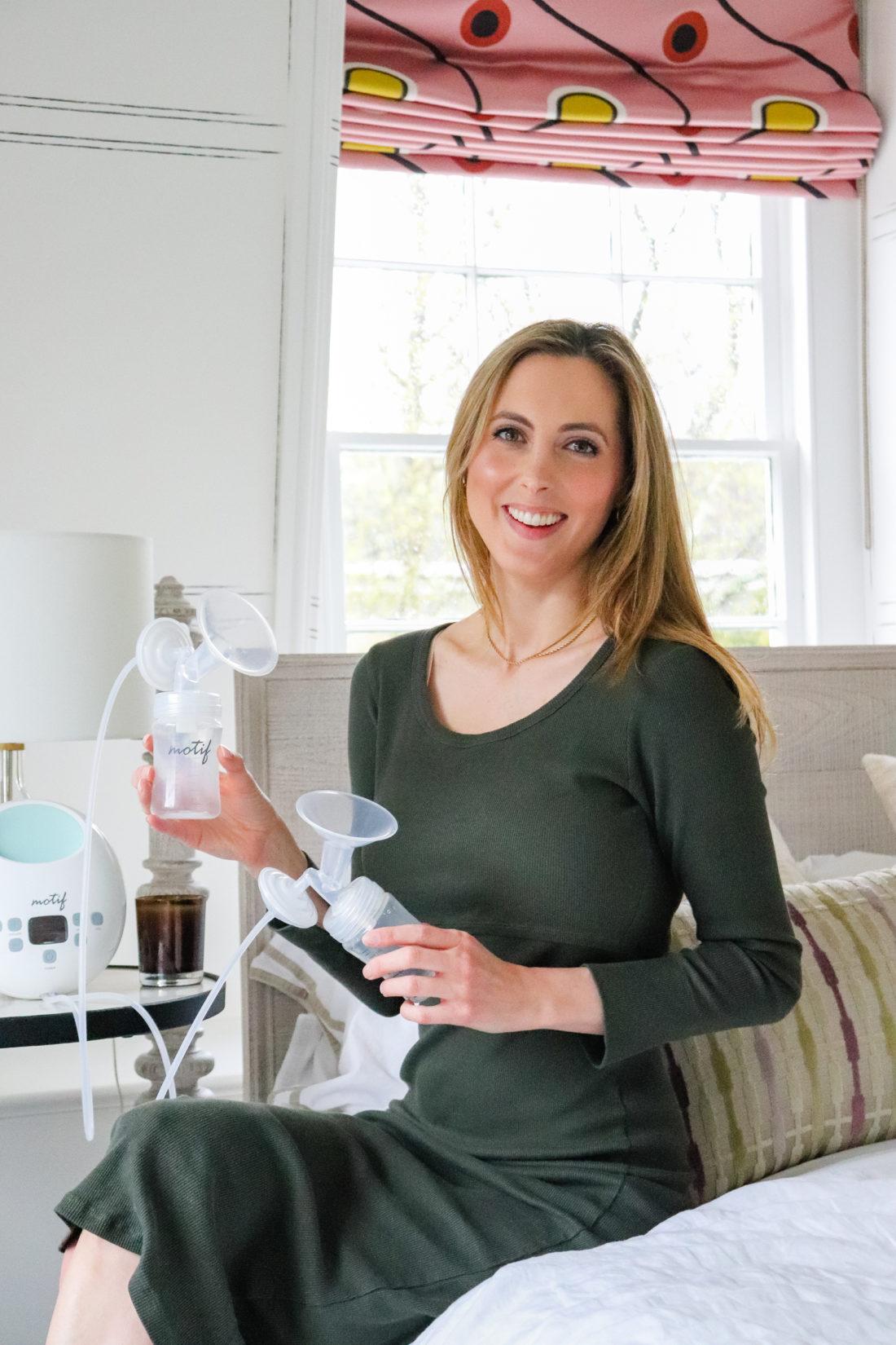 Eva Amurri shares her favorite breast pump from Motif Medical