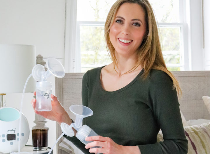 Eva Amurri shares her favorite breast pump from Motif Medical
