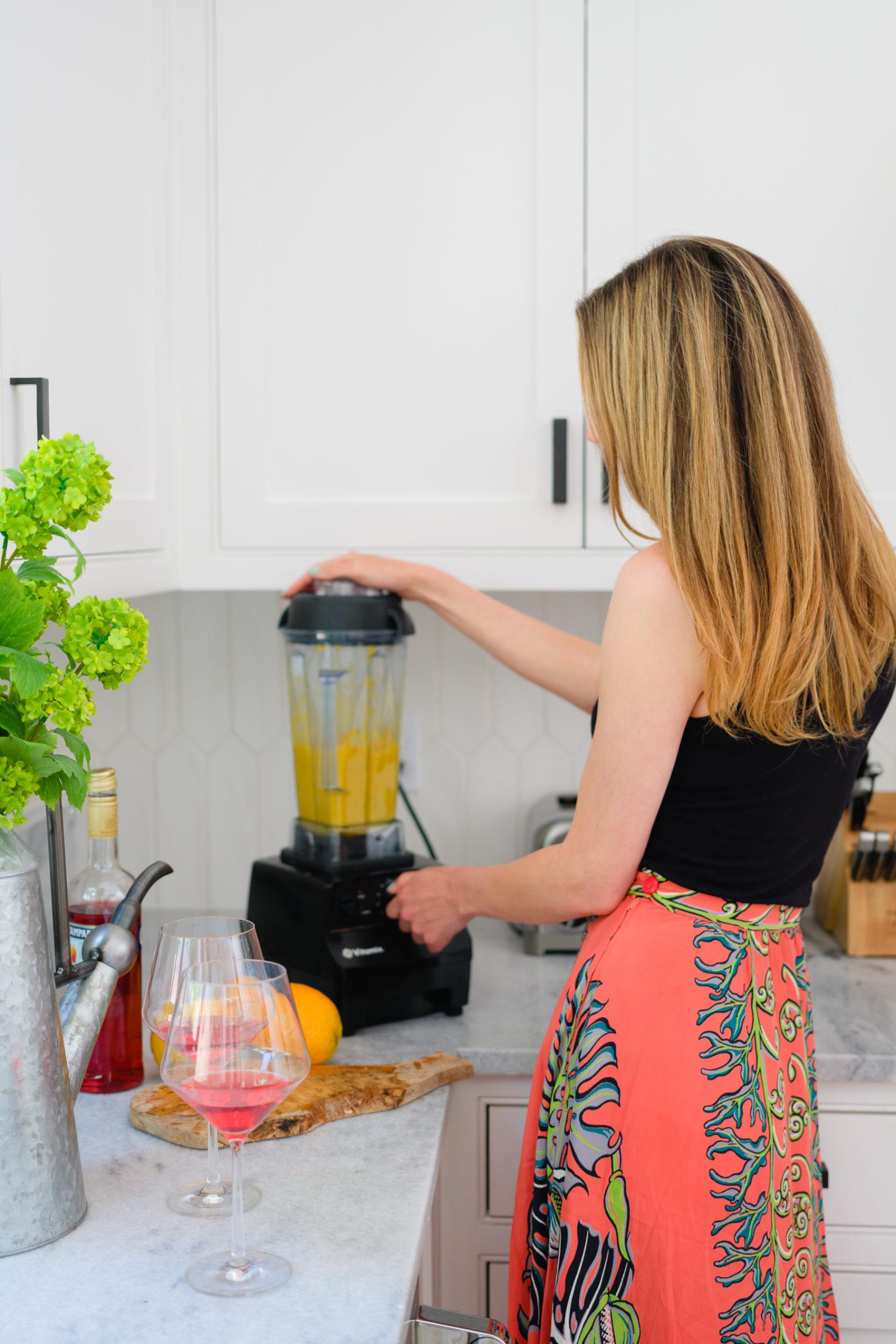 Eva Amurri shares her Italian Sunrise Cocktail recipe