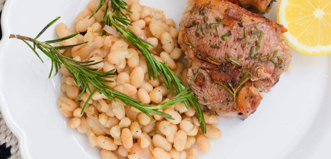 Eva Amurri shares her Rosemary Grilled Lamb Chops recipe