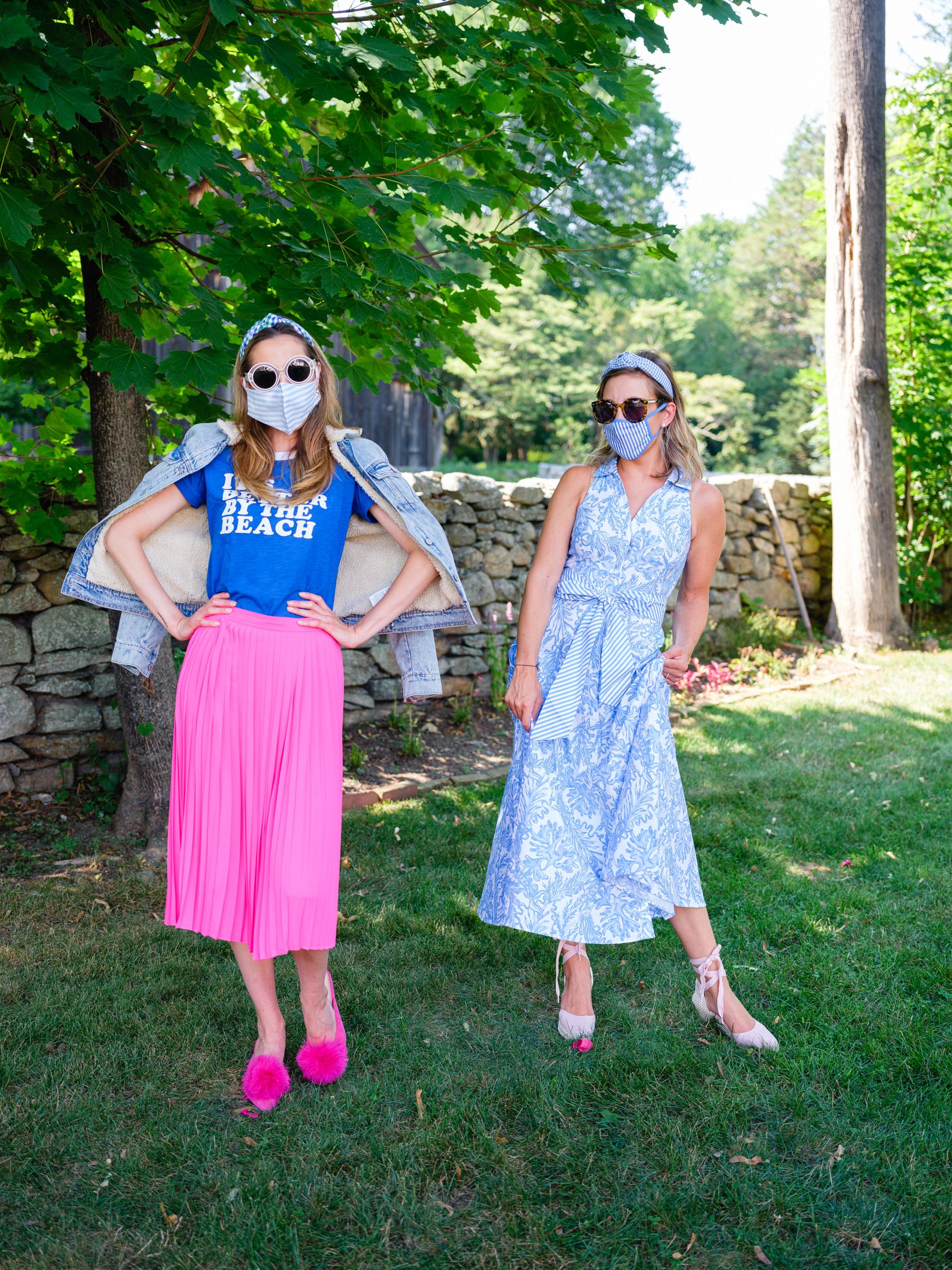 Eva Amurri and Julia Dzafic do an outfit swap