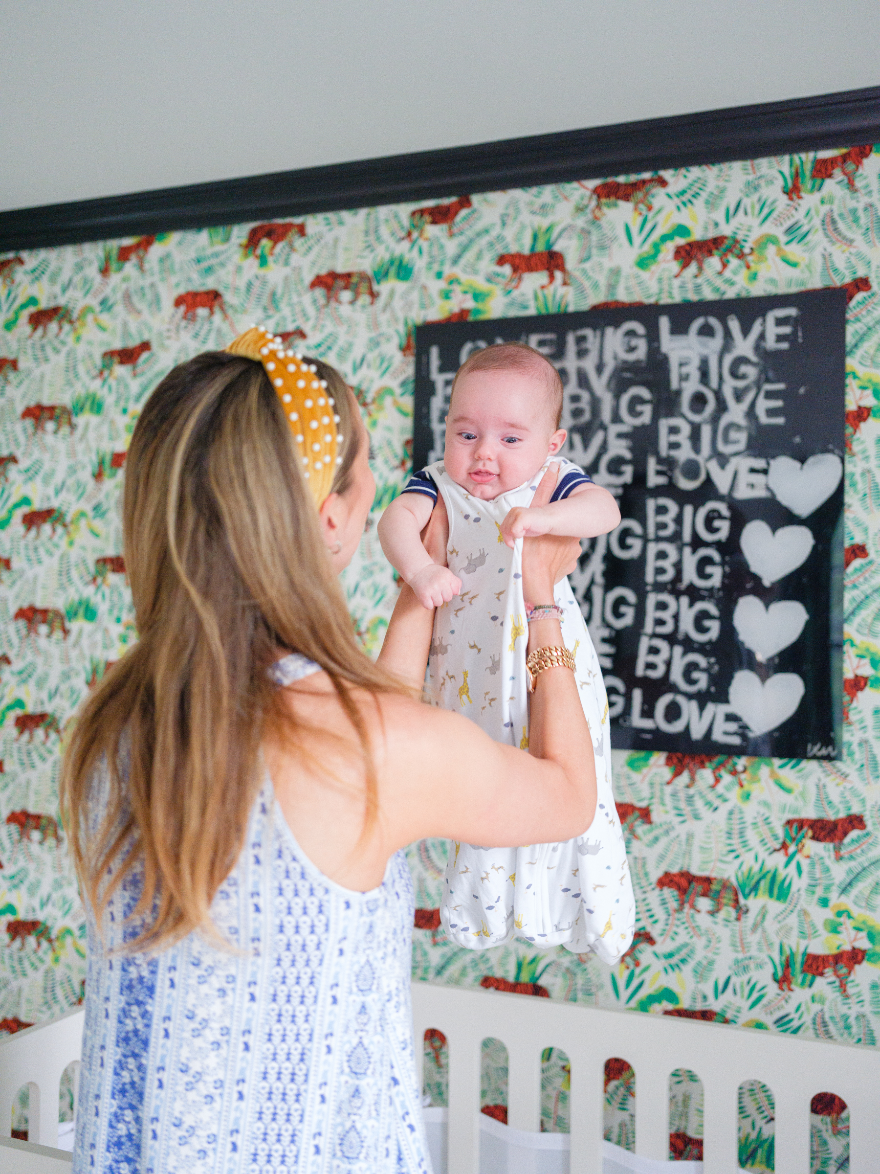 Eva Amurri discusses transitioning her youngest son Mateo from a swaddle