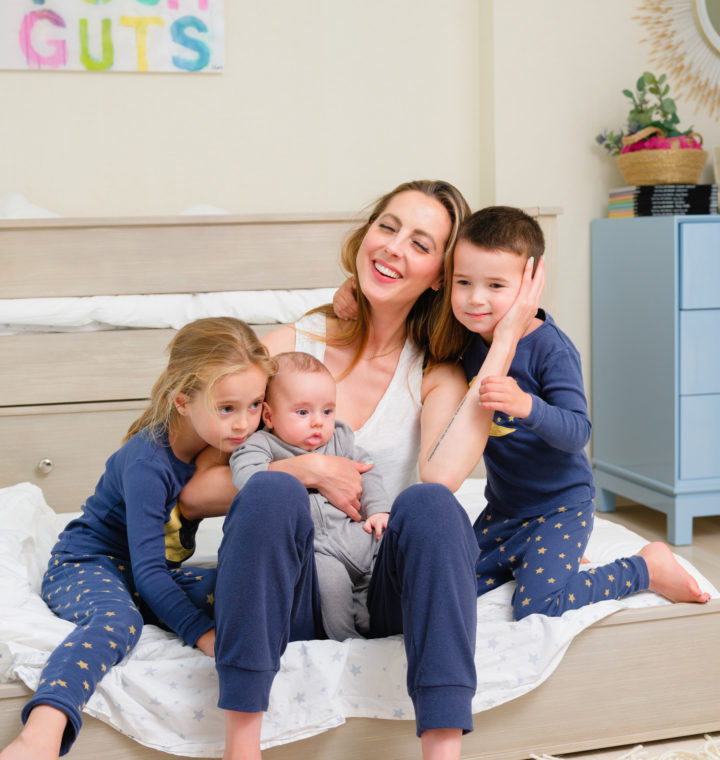 Eva Amurri shares her Nighttime Routine with Three Kids