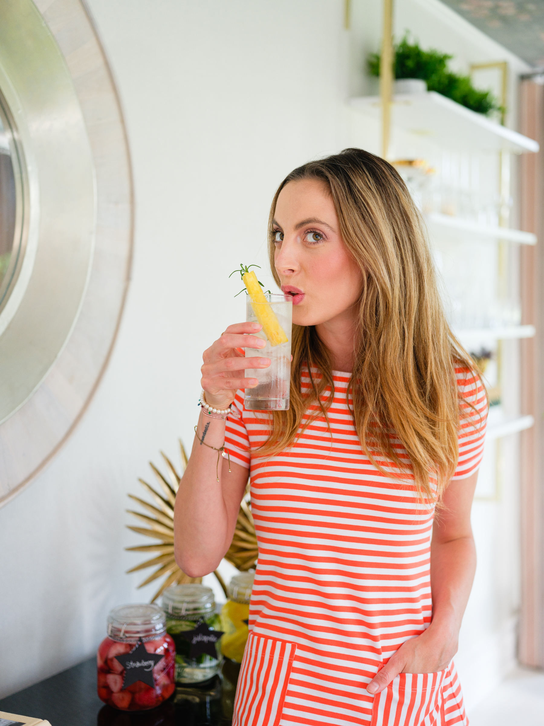 Eva Amurri shares how to make fruit infused tequila