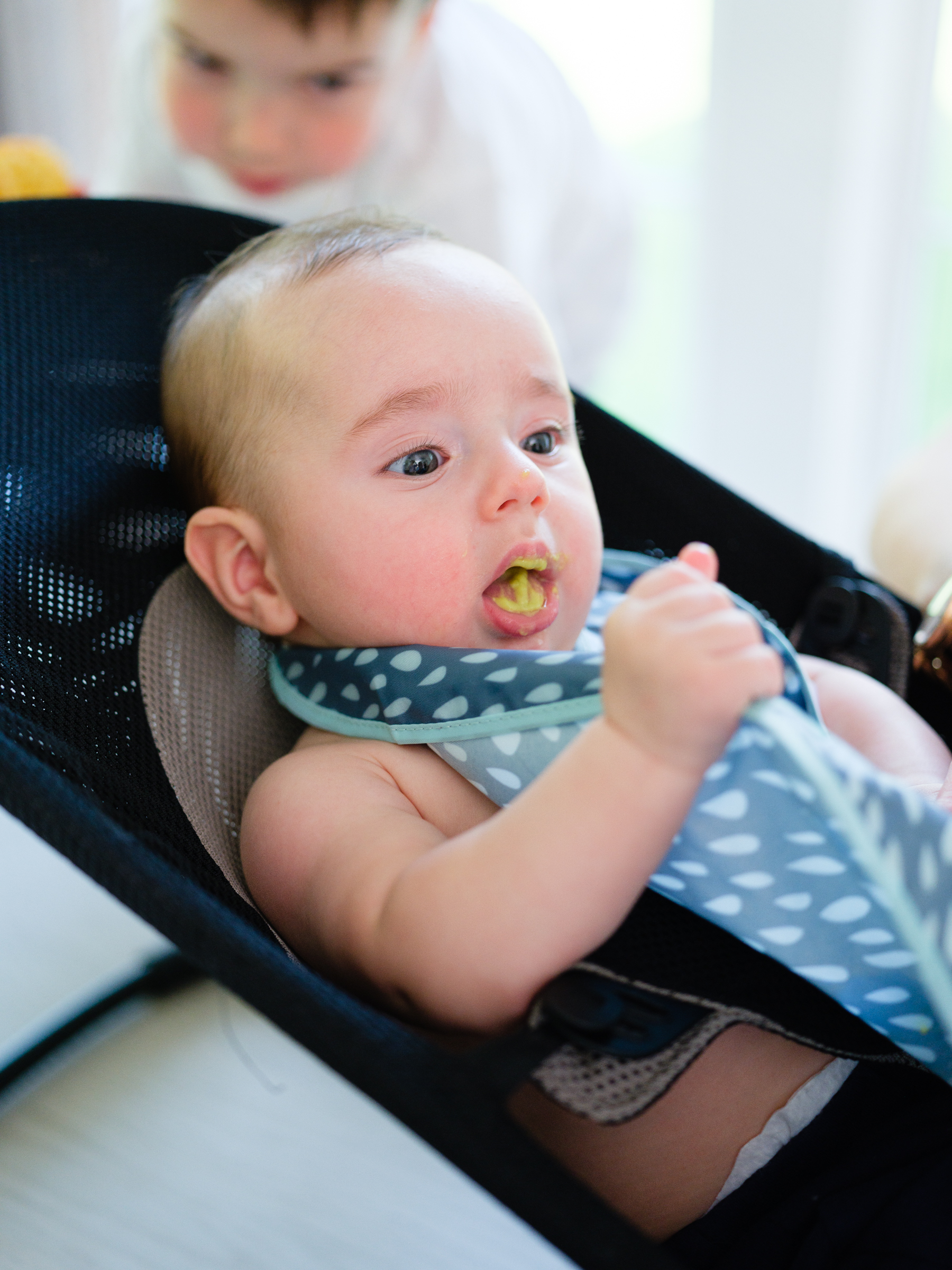 Eva Amurri shares details on how she's introducing baby to solids