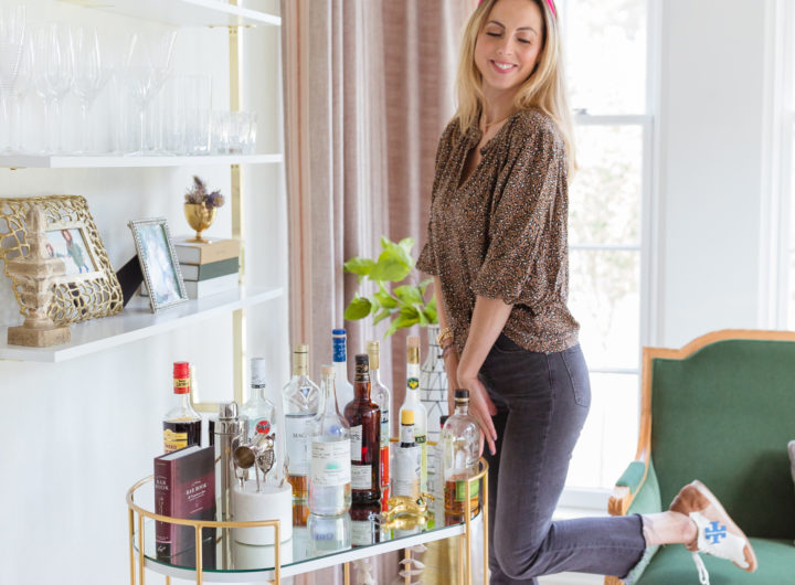 Eva Amurri shares how to set up an at-home bar