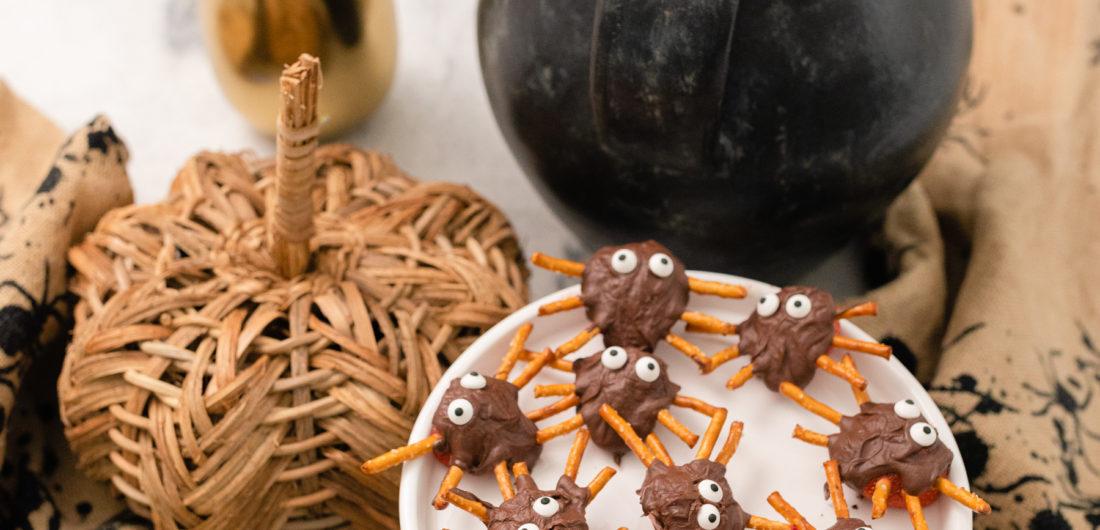 Eva Amurri shares a fun kid-friendly Strawberry Spider Snack DIY