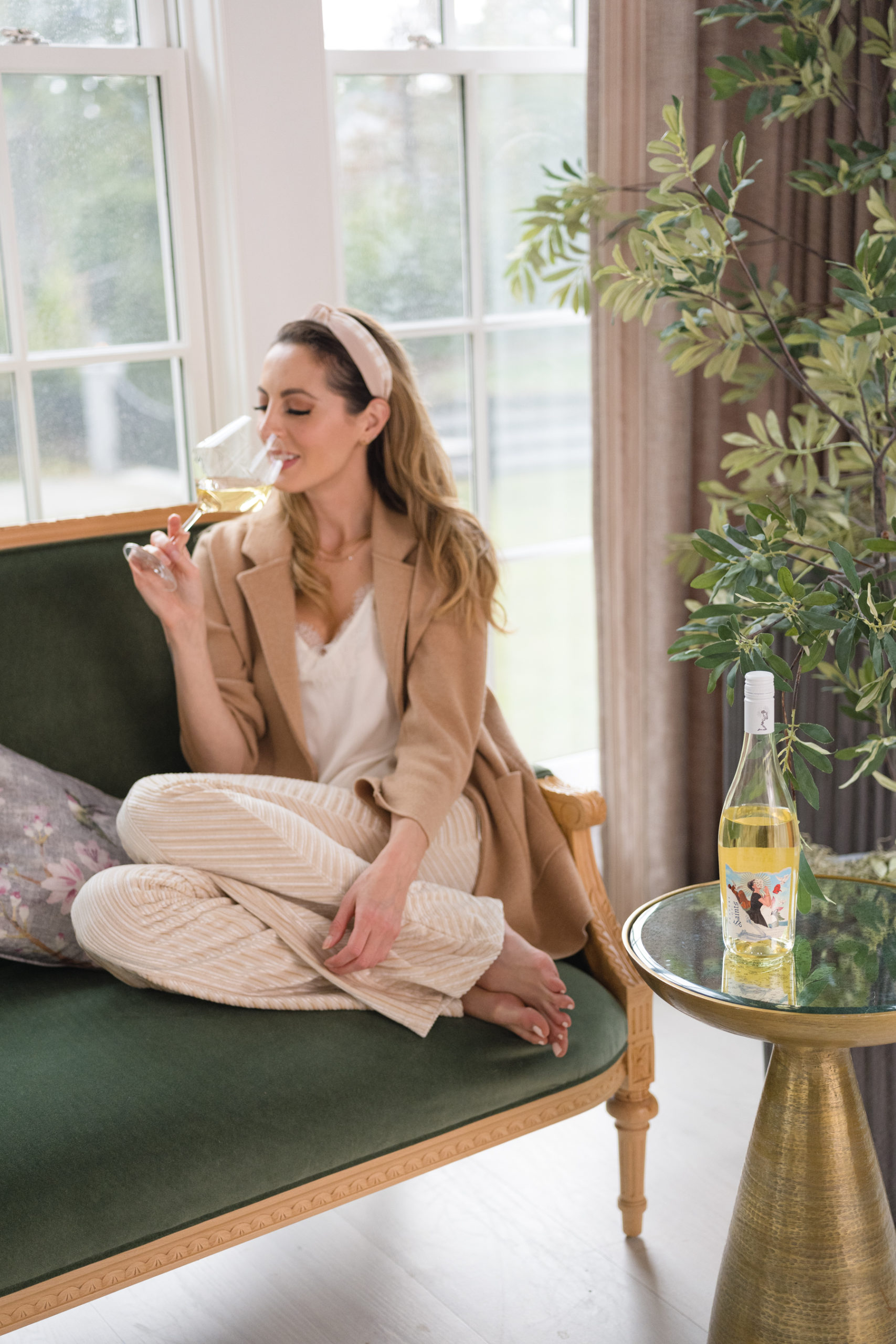 Eva Amurri shares her favorite wine planning hack