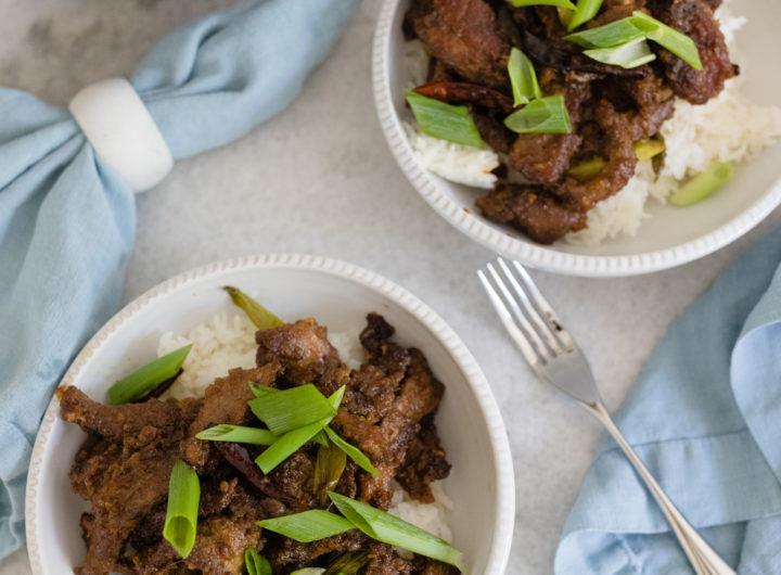 Eva Amurri shares her Mongolian Beef recipe