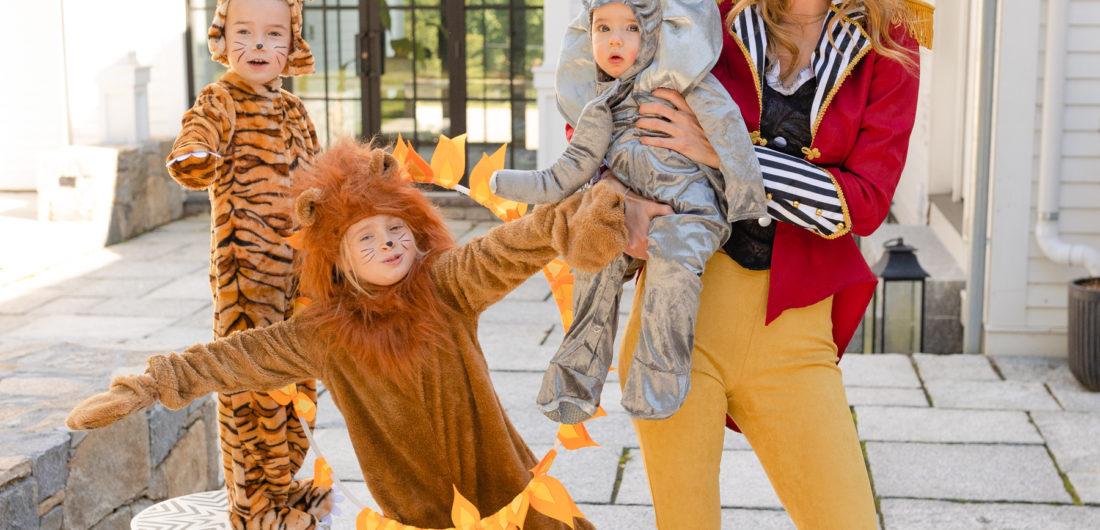 Eva Amurri shares a circus themed family halloween costume