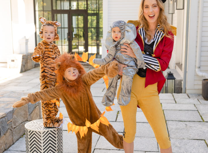 Eva Amurri shares a circus themed family halloween costume
