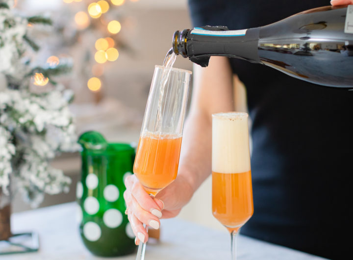 Eva Amurri shares a recipe for Spiced Apple Bellinis
