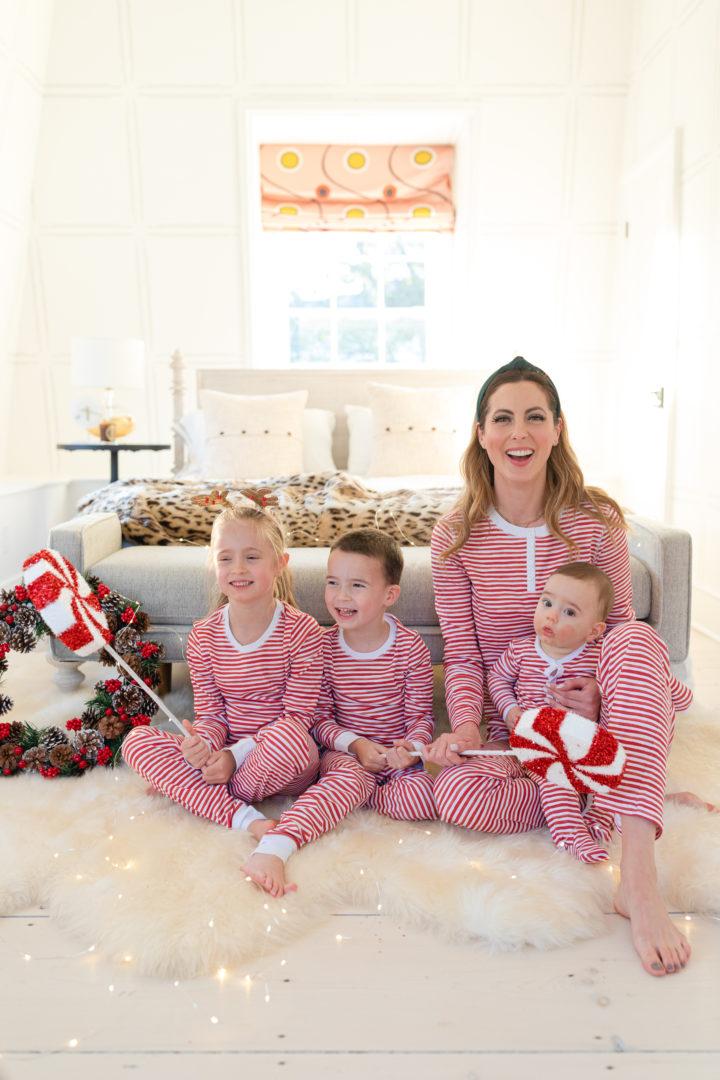 Eva Amurri shares her favorite holiday pajamas