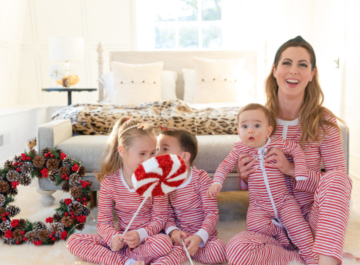 Eva Amurri shares her favorite holiday pajamas