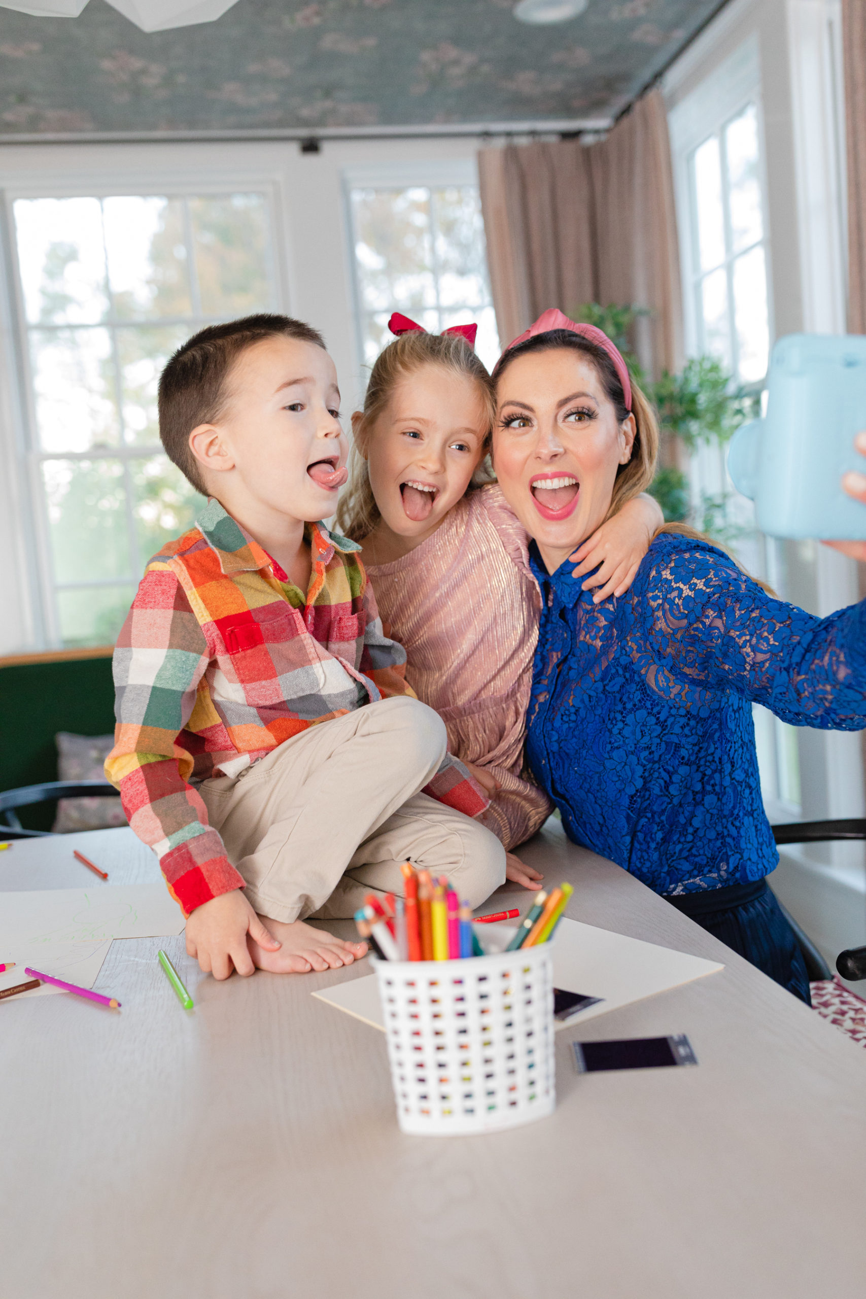Eva Amurri makes a family time capsule for the holidays
