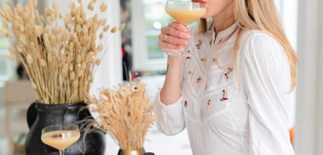 Eva Amurri shares a Maple Whiskey Sour recipe