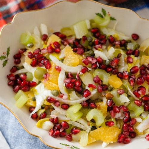 Eva Amurri shares a recipe for an Italian Christmas Salad
