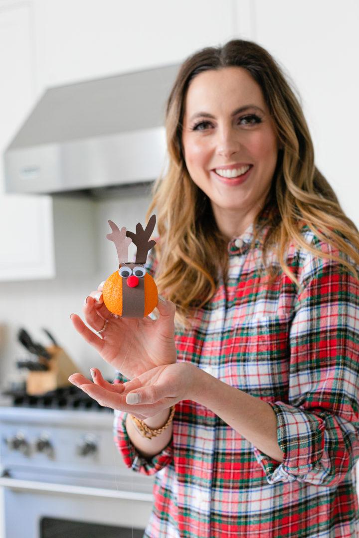 Eva Amurri shares a cute Festive Reindeer Snack craft