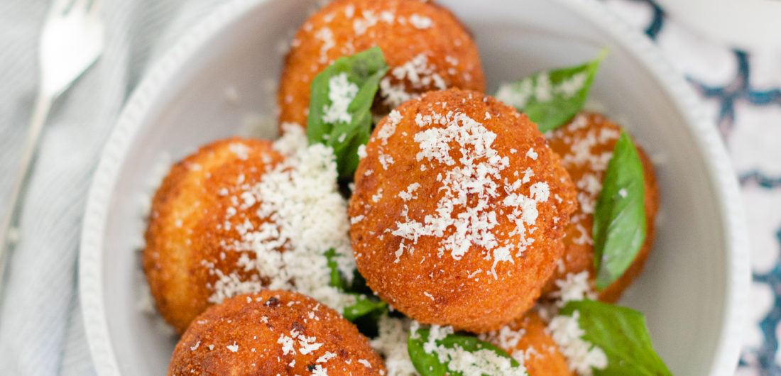 Eva Amurri shares a recipe for Italian Arancini