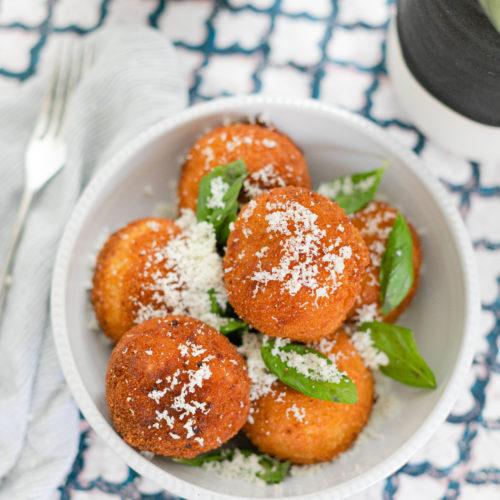 Eva Amurri shares a recipe for Italian Arancini