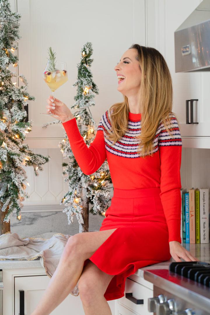 Eva Amurri shares her holiday sangria recipe