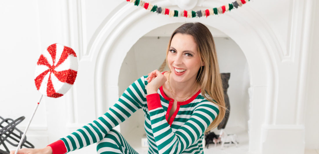 Eva Amurri shares an easy DIY Christmas Garland