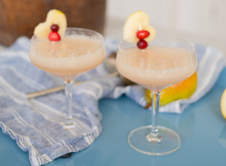 Eva Amurri shares The Pear Sparkler cocktail recipe