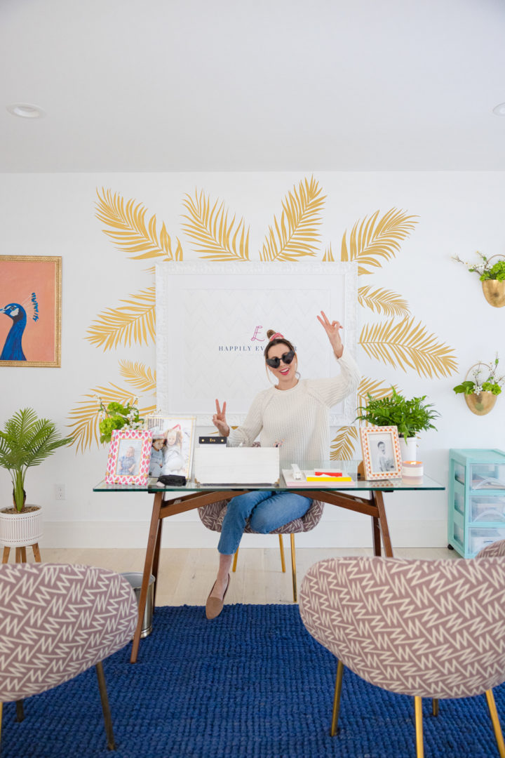 Eva Amurri shares her new home office