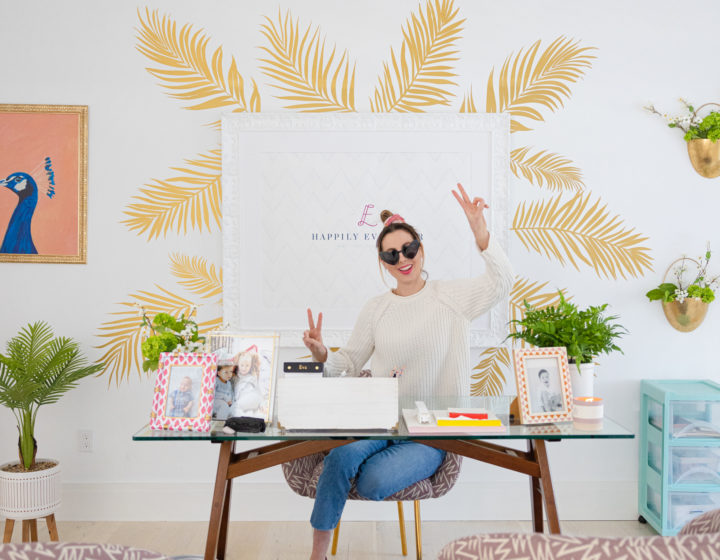 Eva Amurri shares her new home office