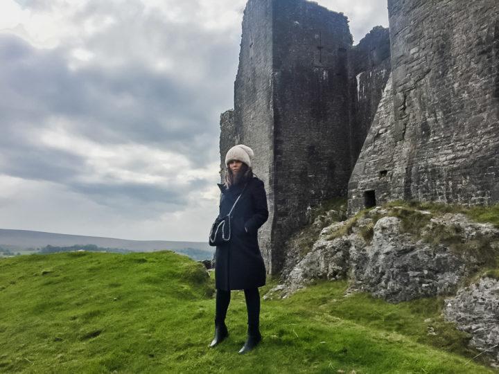 Eden Cale at Castle Carreg Cennen, Wales