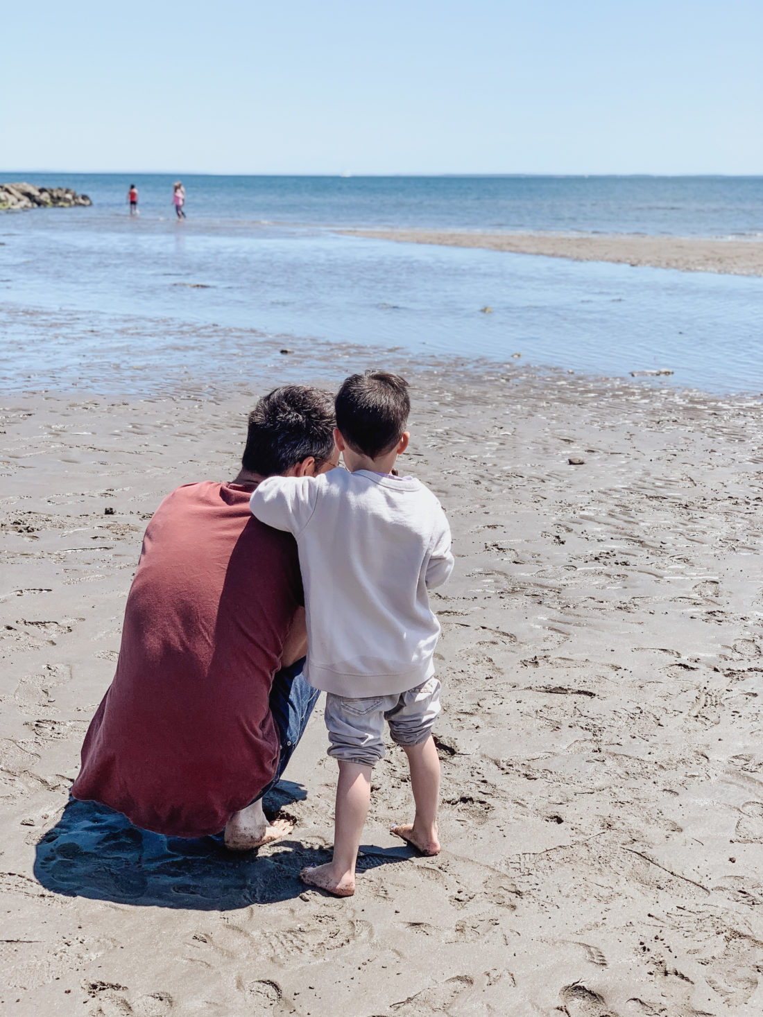 Eva Amurri shares her process of introducing kids to a new guy
