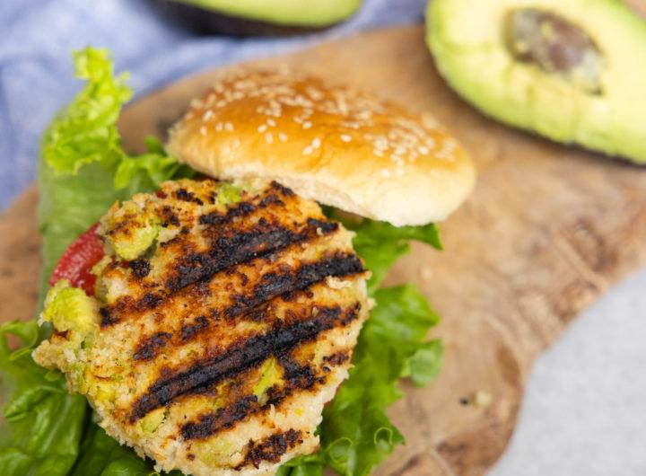 Eva Amurri shares her healthy recipe for Chicken Avocado Burgers