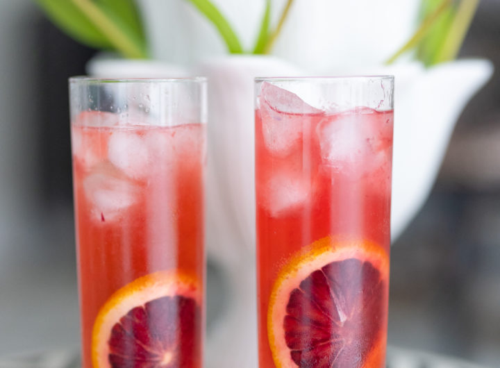 Eva Amurri shares the Rosé Punch Cocktail