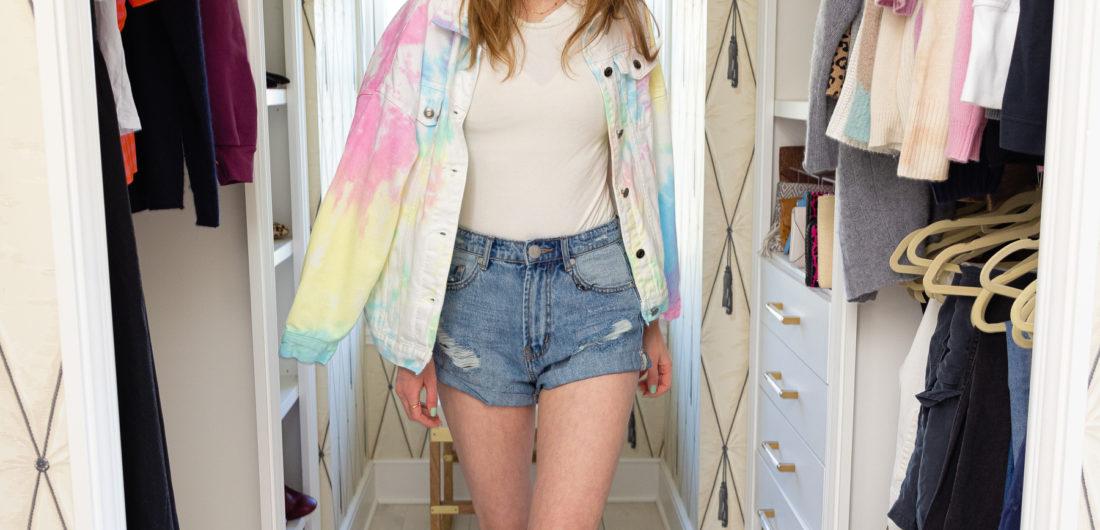Eva Amurri shares her 2021 Denim Shorts Edit