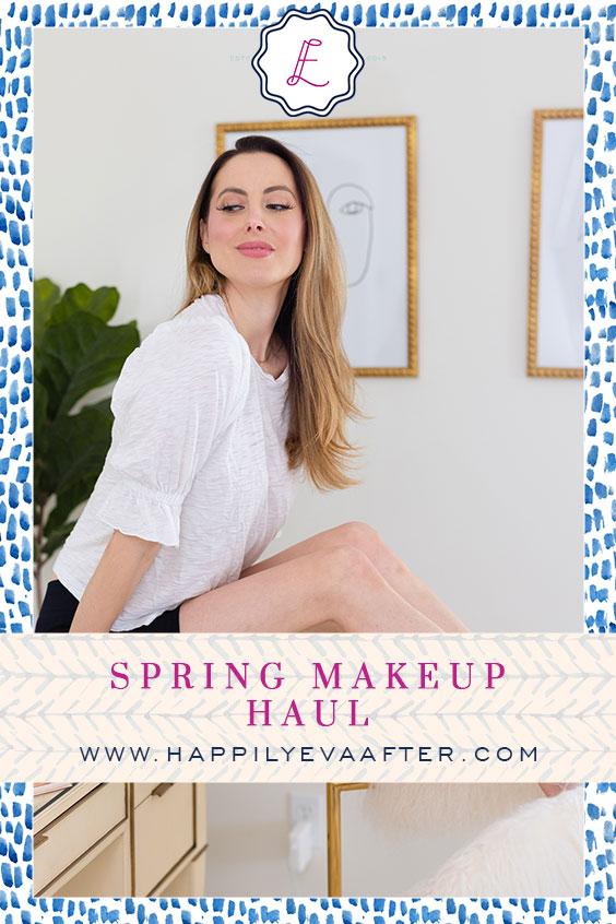 Eva Amurri shares her spring makeup haul