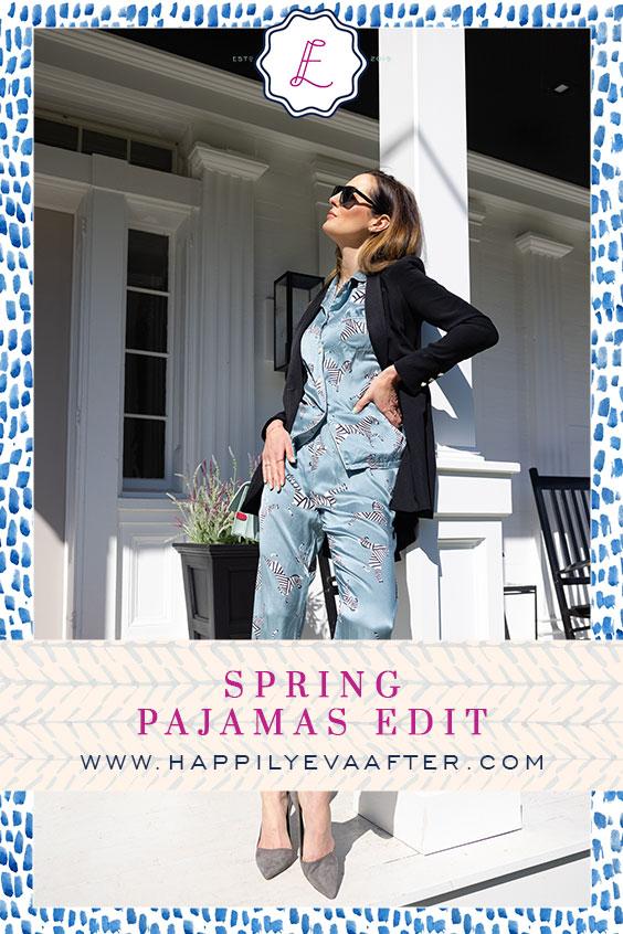 Eva Amurri shares her favorite Spring Pajamas for #WearYourPajamasToWorkDay