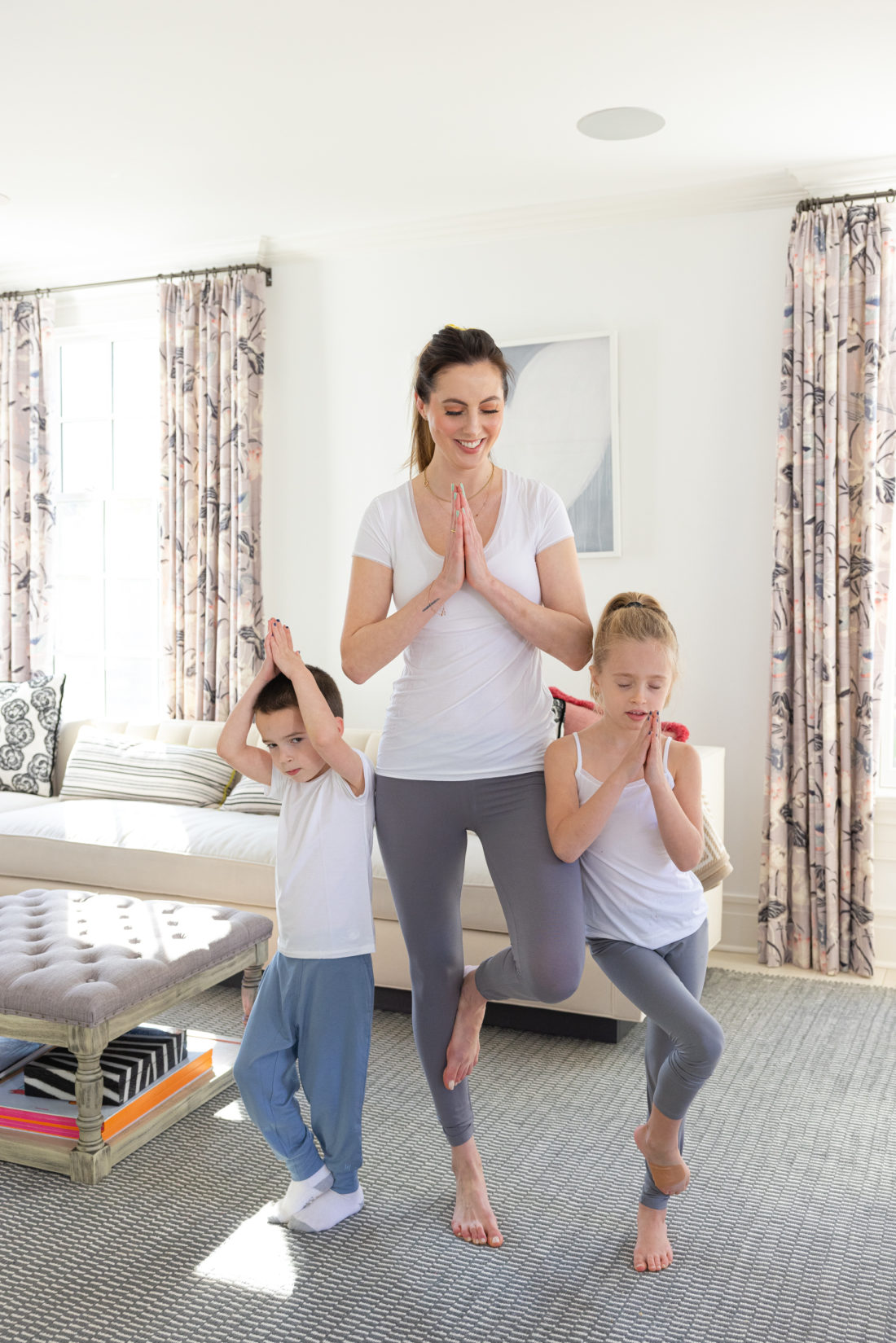 Eva Amurri shares some Spring Fitness Challenges to Keep Kids Active