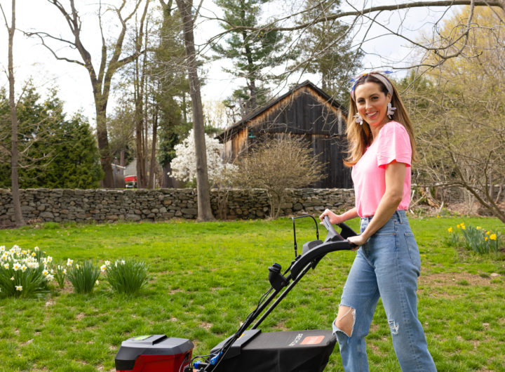 Eva Amurri shares some DIY Landscaping tips