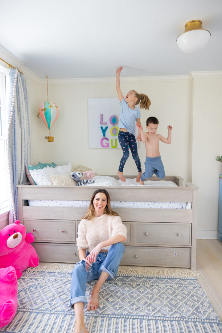 Eva Amurri shares an update on her kids room-sharing situation