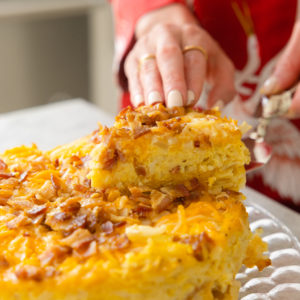 Eva Amurri shares an Easy Crockpot Breakfast Casserole recipe