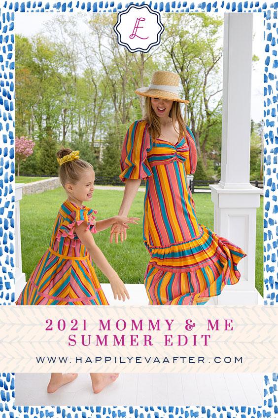 Eva Amurri shares her 2021 Mommy & Me Summer Edit