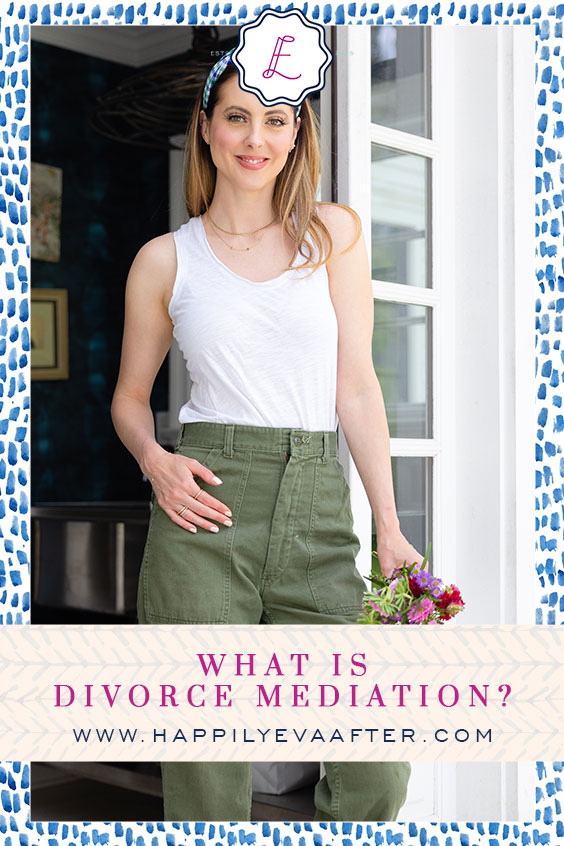 Eva Amurri discusses what divorce mediation is and her experience with divorce mediator Vicki Volper.
